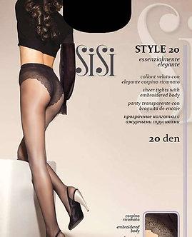 Колготки SiSi Style 20 Den MIELE (телесный)