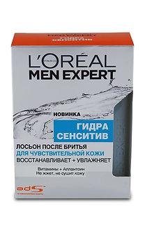 LOREAL MEN EXPERT Лосьон после бритья для чувствительной кожи 100мл.