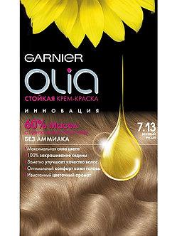 GARNIER OLia Краска для волос №7.13 Бежевый русый