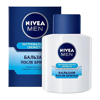 NIVEA Бальзам после бритья MEN Экстремальная свежесть 100мл.