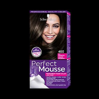 Schwarzkopf Perfect Mousse Краска для волос №400 Холодный экспрессо
