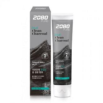 Dental Clinic зубная паста 2080 с активированным углем 120гр.