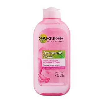 GARNIER Основной уход Успокаивающий витаминный тоник для лица 200мл.