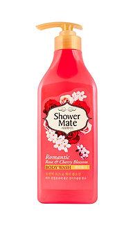 Shower Mate Гель для душа Роза и вишневый цвет 550мл.