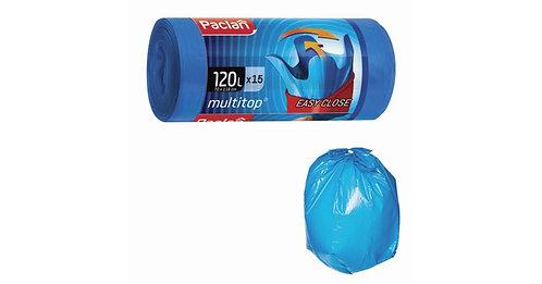 PACLAN Мешки Multitop 120л х 15шт.