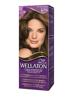 WELLA Wellaton Крем-краска для волос №6/73 Молочный шоколад