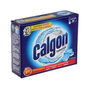 Calgon Средство для смягчения воды 12 таблеток.