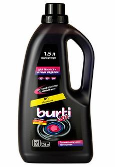 BURTI Средство для стирки темных и черных изделий 1,5л.