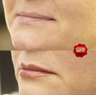 Перманентный макияж губ.Акварельные губы