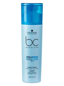 Schwarzkopf BONACURE Кондиционер для волос Увлажнение HYALURONIC MOISTURE 200мл.