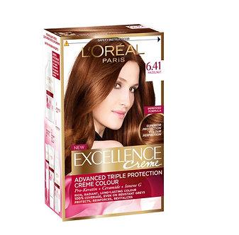 Loreal EXCELLENCE Краска для волос №6.41 Элегантный медный