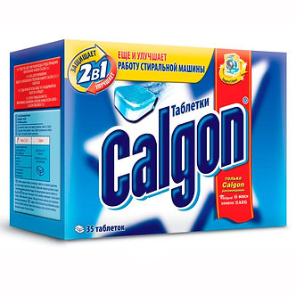 Calgon Средство для смягчения воды 35 таблеток.