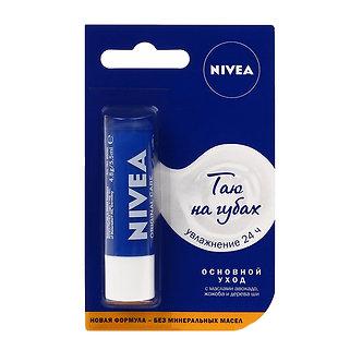"""NIVEA Бальзам для губ """"Основной уход"""" 4,8гр."""