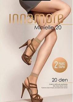 Носки INNAMORE Minielle 20 Den 0(UNO)
