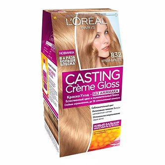 Loreal CASTING Creme Gloss Краска для волос №832 Крем-брюле