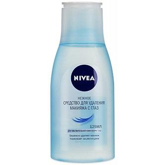 NIVEA Средство для снятия макияжа с глаз 125мл.