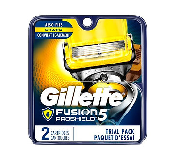 Gillette FUSION PROSHIELD Лезвия 2шт.