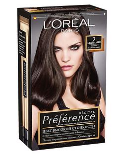 Loreal Preference Краска для волос №3 Бразилия