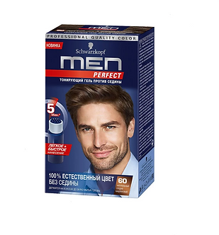 Schwarzkopf MEN Perfec Краска для волос №60 Натуральный средне-каштановый