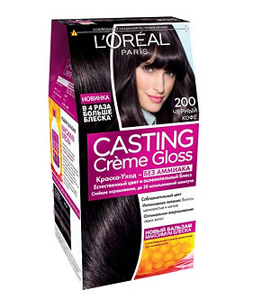 Loreal CASTING Creme Gloss Краска для волос №200 Черный кофе.
