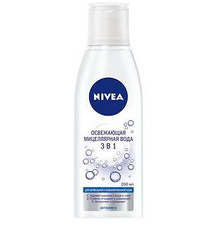 NIVEA Мицеллярная вода 3в1 200мл.