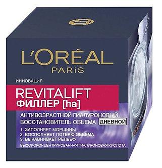 L'Oreal Paris Revitalift Филлер [ha] Дневной против морщин для лица 50мл.