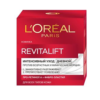 L'Oreal Paris Revitalift Дневной антивозрастной крем для лица 50мл.