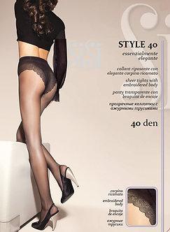 Колготки SiSi Style 40 Den DAINO (загар)