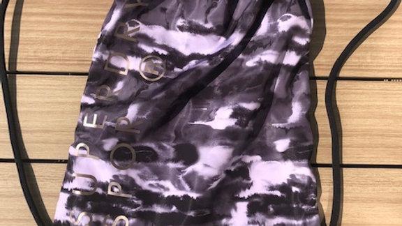 DRAWSTRING BAG ORCHID BLACK INK OR CAMO