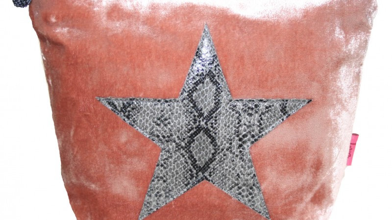 LUA STAR LARGE COSMETIC POUCH