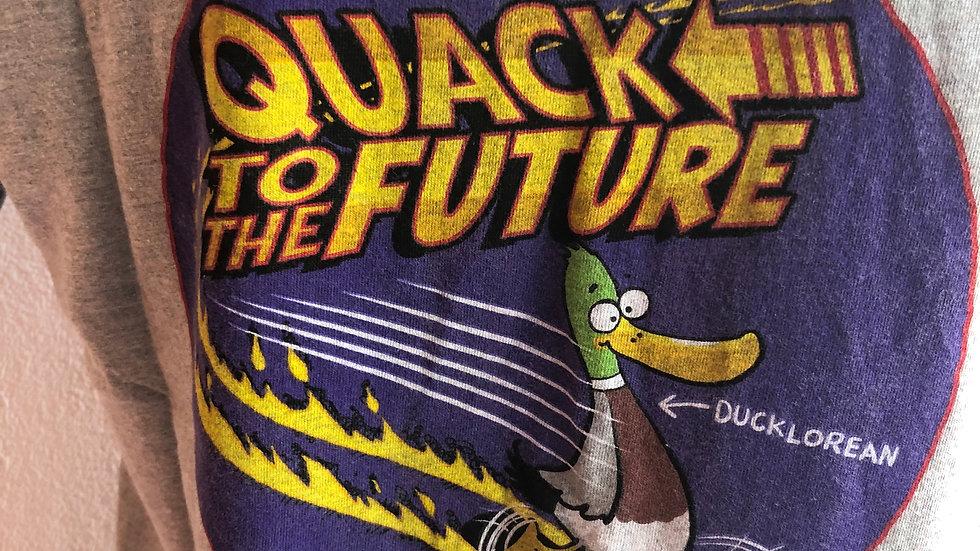 WEIRDFISH QUACK TO THE FUTURE TEE