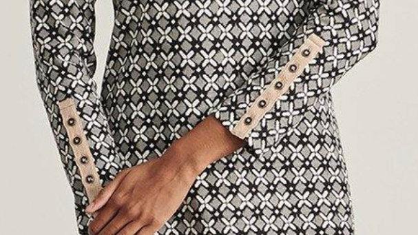 LADIES HATLEY ZOE DRESS - XO IKAT