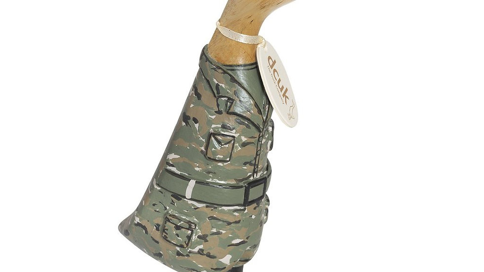 DCUK ARMED FORCES WOODEN DUCK