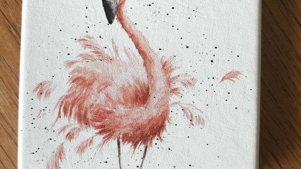 Flamingo Mirror Pretty In Pink