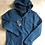 Thumbnail: Weirdfish mens Lockie full zip hooded fleece, storm blue