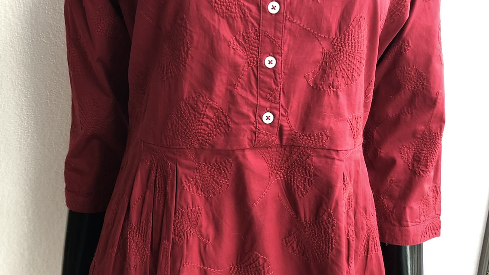 GINKGO BLOUSE RED