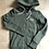 Thumbnail: Ladies Orange Label Zip Hood Washed Khaki Snowy