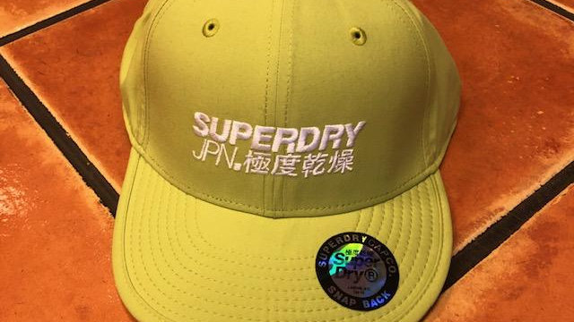 SUPERDRY MENS CAP LIME GREEN