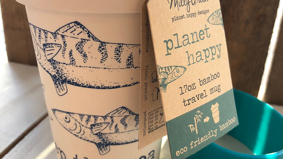 MILLY GREEN BAMBOO TRAVEL CUP