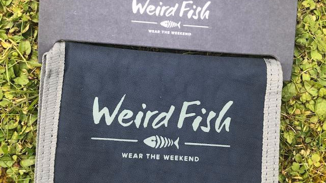 WEIRDFISH MENS CANVAS WALLET