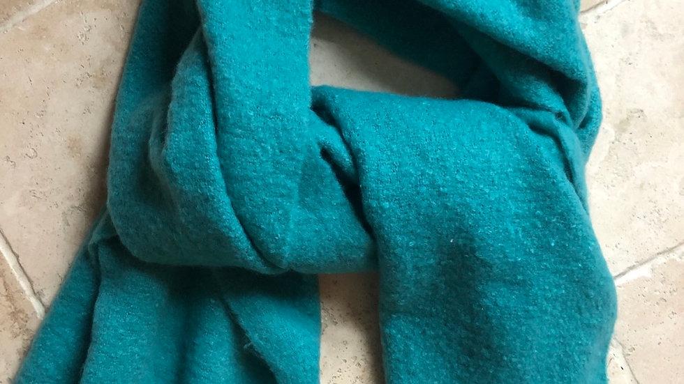 Lisa Angel Teal Blanket Scarf