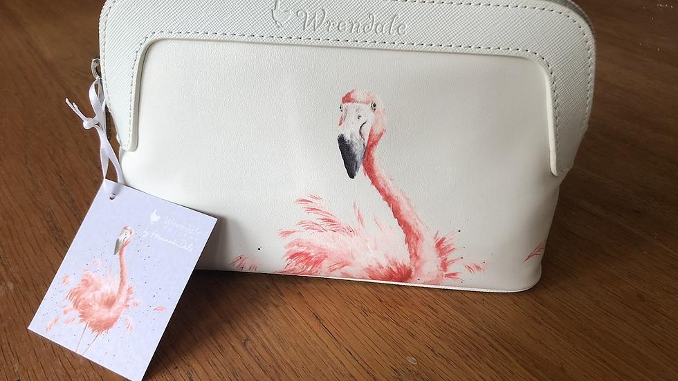 Flamingo Small Cosmetic Bag