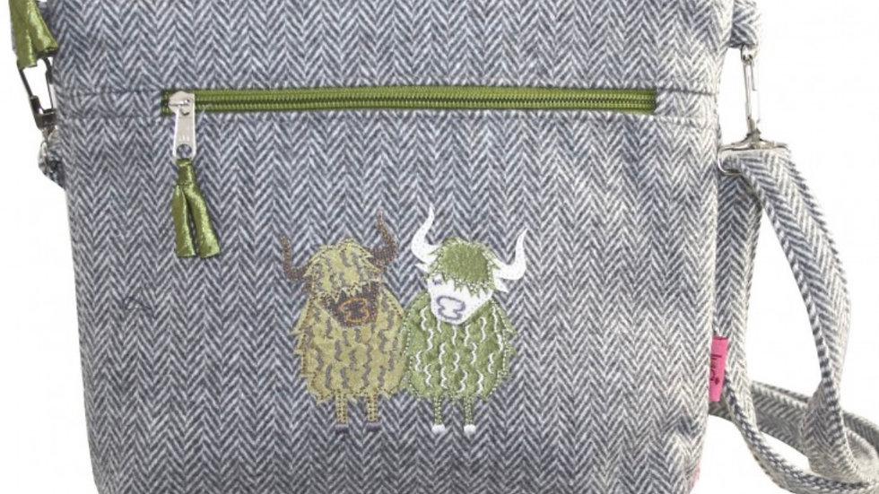 LUA HIGHLAND COW MESSENGER BAG