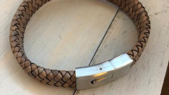 Tribal Steel Bracelet T1650 21cm