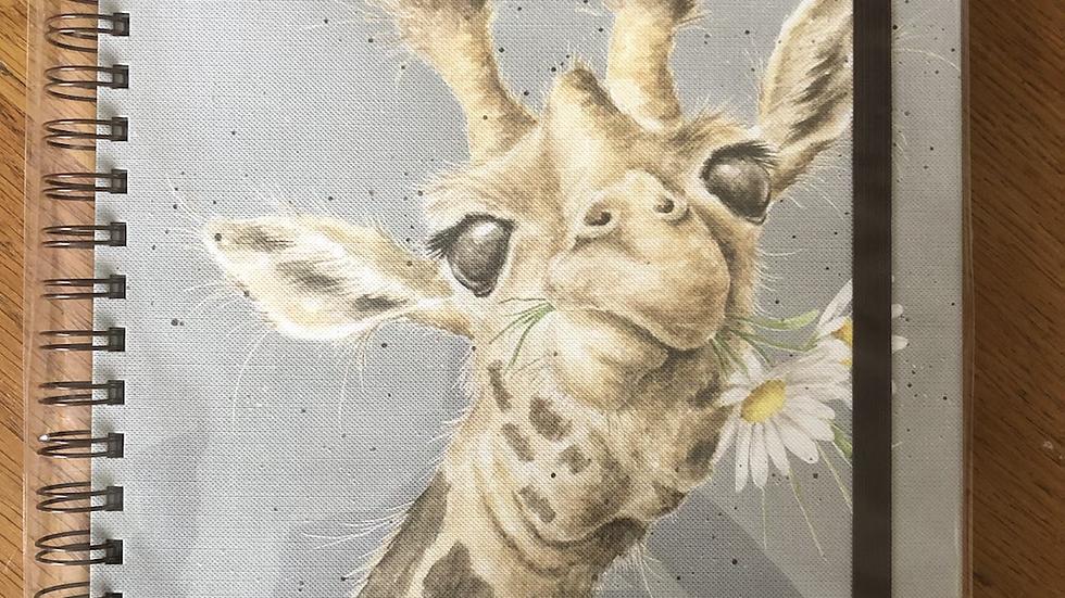 Giraffe Large A4 Notebook