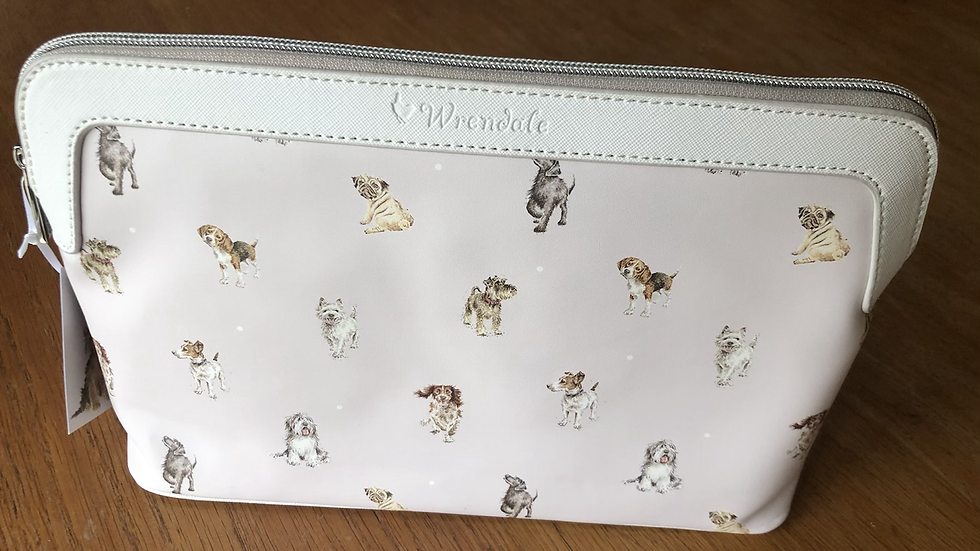 A Dogs Large Cosmetic Bag