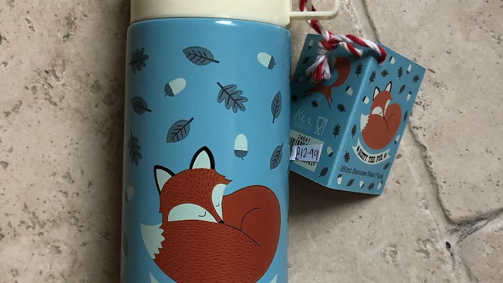Rex Rusty The Fox Flask