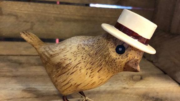 DCUK GARDEN BIRD WITH CREAM TRILBY