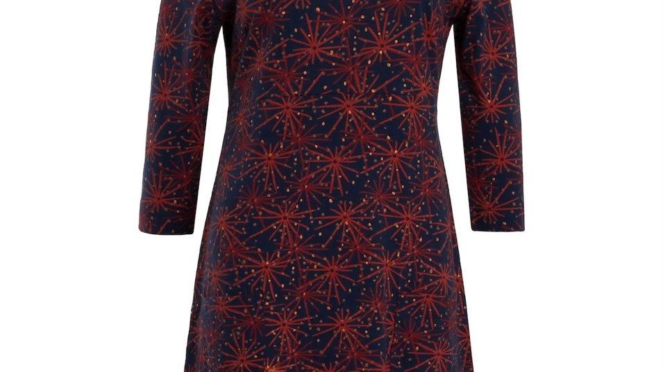 WEIRDFISH MARKLE SPARKLE JERSEY DRESS