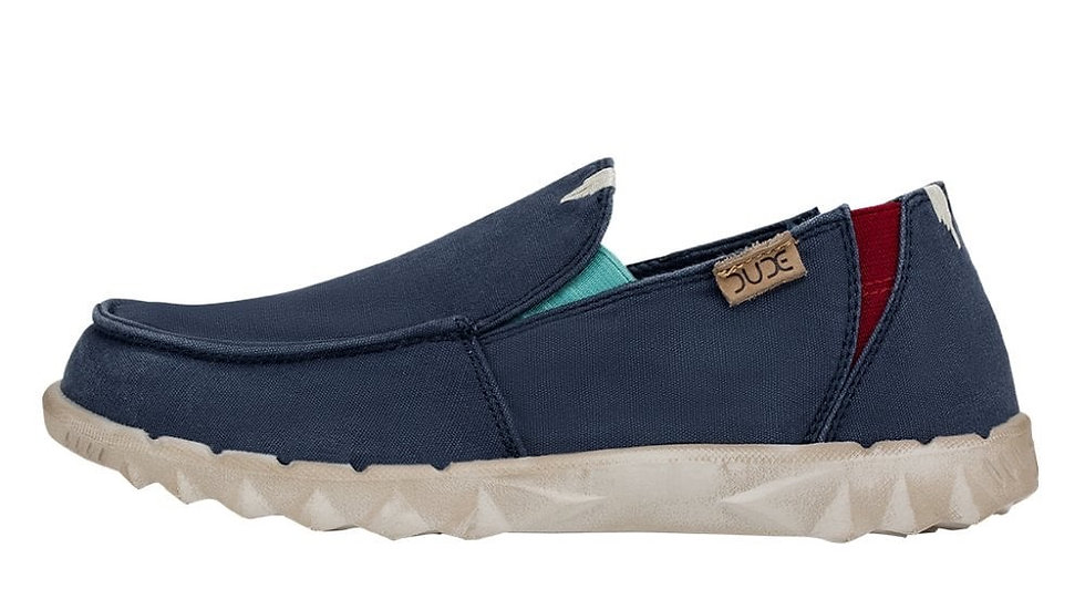 MENS HEY DUDE FARTY WASHED CANVAS BLUESPACE